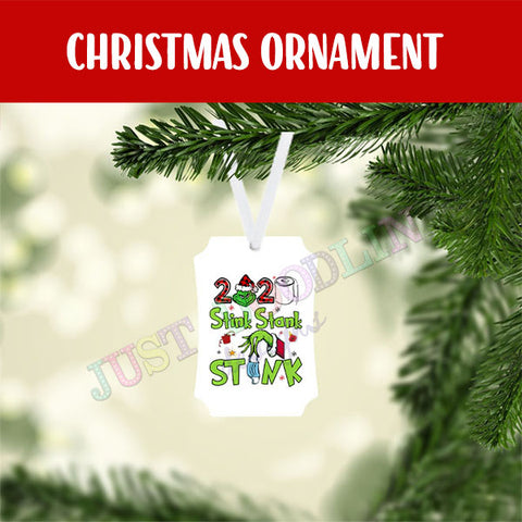 Stink Stank Stunk 2020 Christmas Ornament