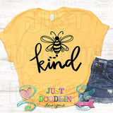 Bee Kind (black) T-shirt