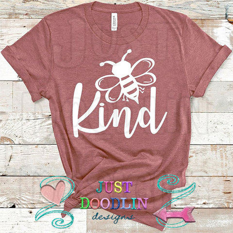 Bee Kind (white) T-shirt