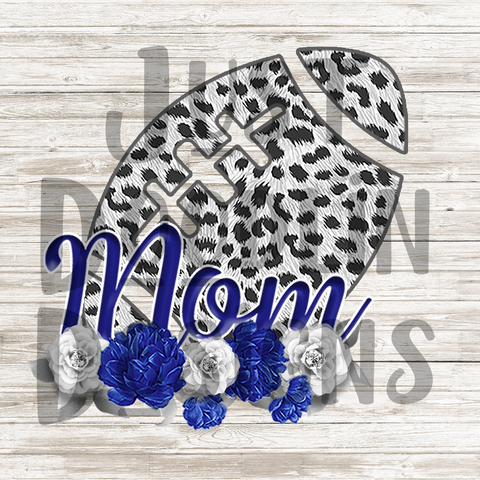 Football Mom PNG file