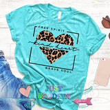Free Spirit Kind Heart T-shirt