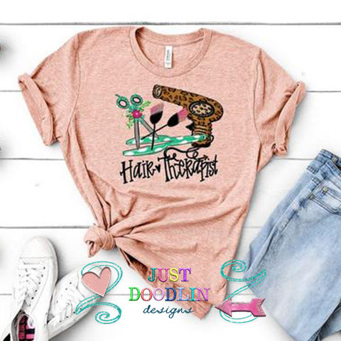 Hair Therapist T-shirt