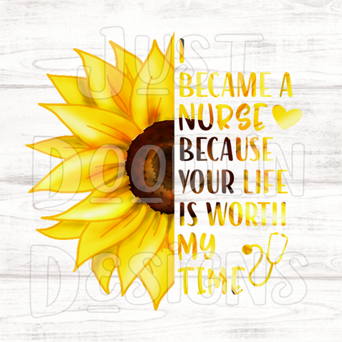 Nursing Sunflower
