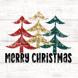 Christmas Design | Merry Christmas 3 Tree Design
