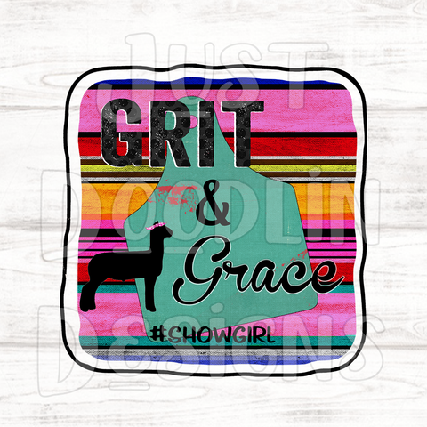Grit and Grace PNG file