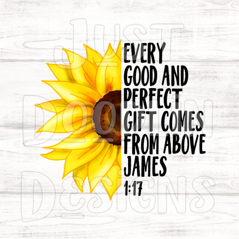Every Good Thing PNG file, James 1:17