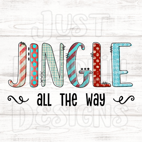 Christmas Design | Jingle All The Way
