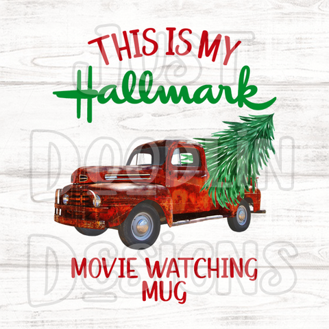 Christmas Design | Hallmark Movie Watching Mug