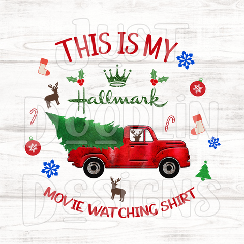 Christmas Design | Hallmark Movie Watching Shirt