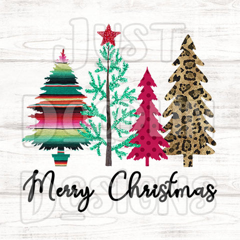 Christmas Design | Merry Christmas With Trees