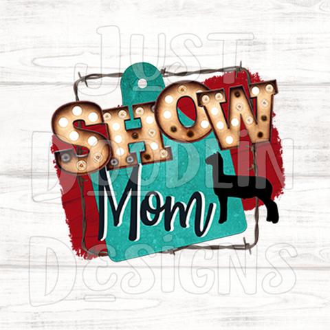 Show Mom With Tag PNG file