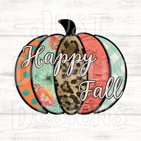 Fall Design | Happy Fall Pumpkin
