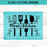 Glass Cutting Board - Personalized Kitchen Gadget