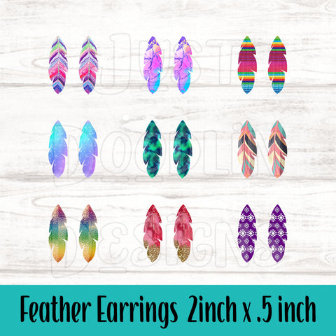 Copy of Feather Earrings
