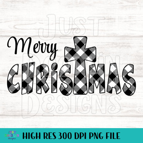 Christmas Design | Merry Christmas Plaid Design