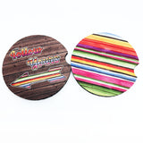 Serape Boho Car Coaster set