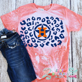Houston Astros Leopard Print Design