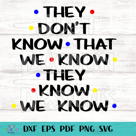 Friends Quote SVG/PNG File