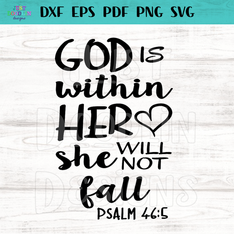 God Is Within Her | Psalm 46:5