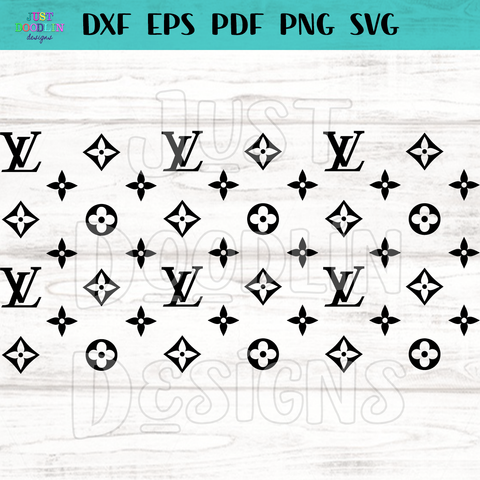 Louis Vuitton SVG for 20 oz tumbler