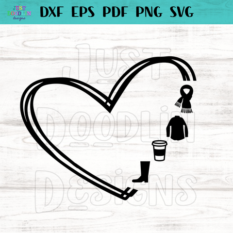 Heart Basic Love SVG