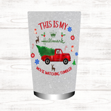 Christmas Design | Hallmark Movie Watching Tumbler