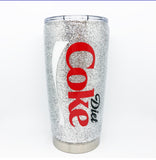 Coke, Diet Coke and Coke Zero Inspired Tumbler