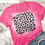 Cheetah Bleached T-shirt