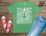 Christmas - Typography Christmas Shirt