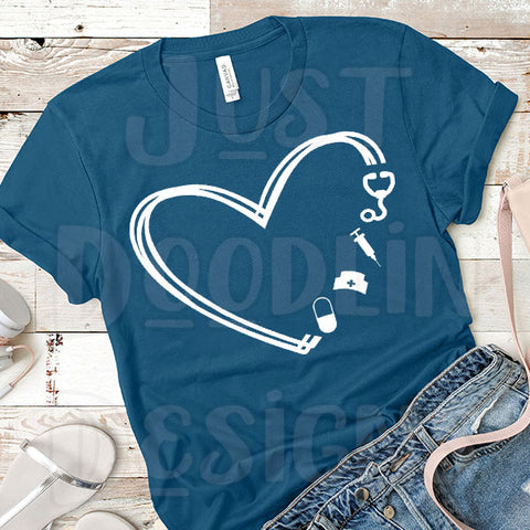 Heart Nurse T-shirt