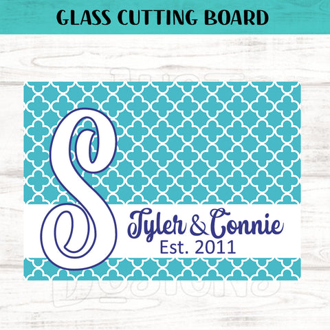 Glass Cutting Board - Deco Style