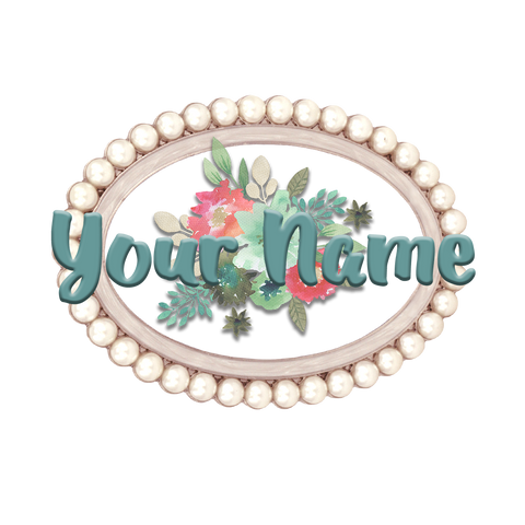 Pearl and Floral Logo