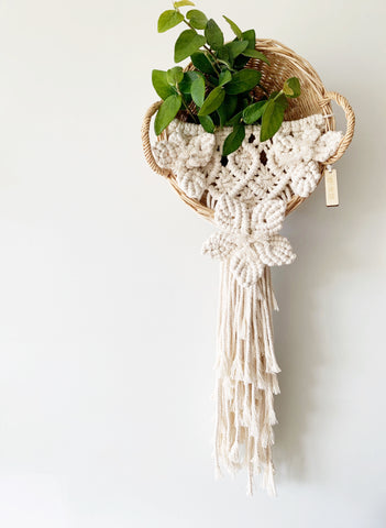 MACRAME WALL BASKET #5