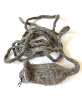 Load image into Gallery viewer, Julius Cheeser- Handmade Interactive Wool Mouse Cat Toy