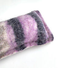 Load image into Gallery viewer, Wool Kicker Cat Toy, Small or Large - Purple