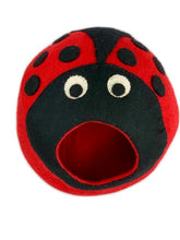 Load image into Gallery viewer, Handmade 100% Natural Wool Cat Cave - Ladybug