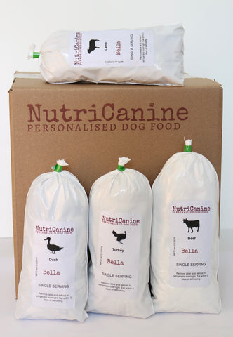 Frozen Natural Raw Dog Food Delivery in Toronto