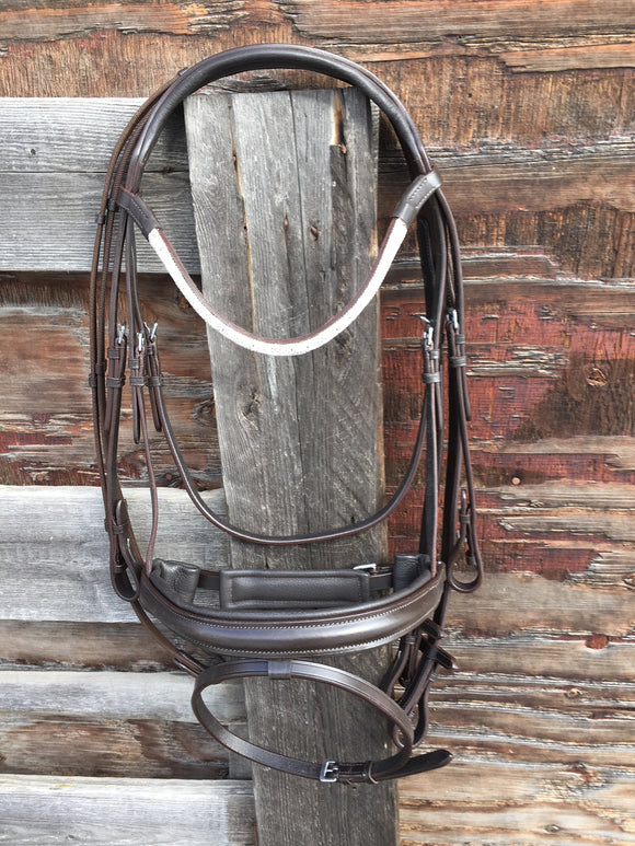 Havana Monocrown Dressage Bridle