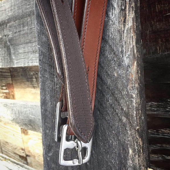 Light brown Stirrup Leathers with Bling