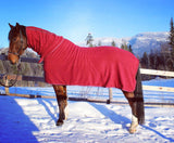 High Neck Fleece Cooler Blanket