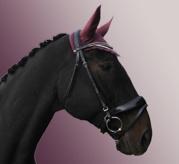 Ultra Dressage Bridle with Browband Options