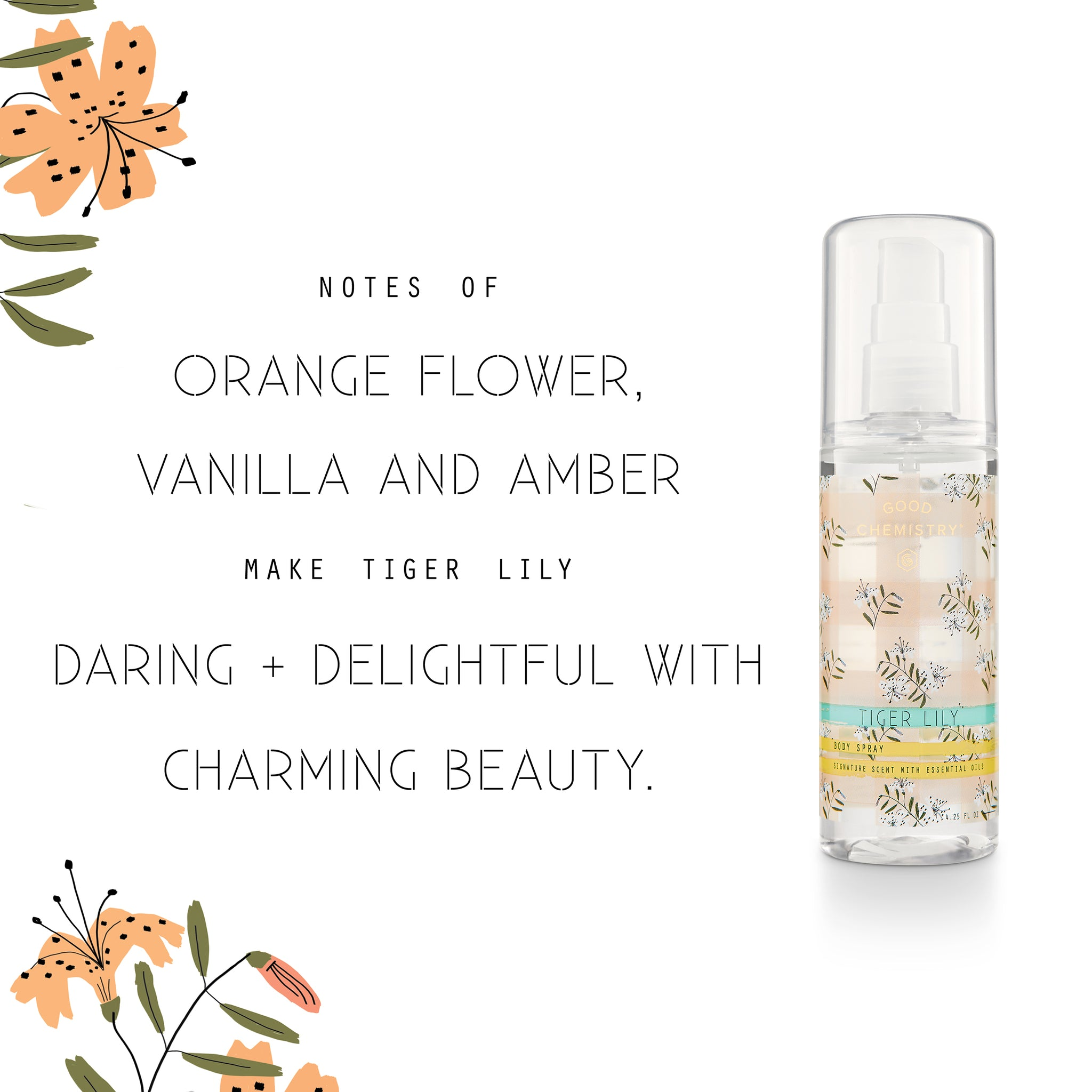 Tiger Lily Body Spray