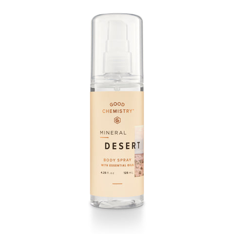 Mineral Desert Body Spray
