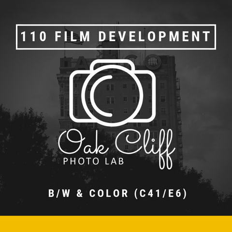 110 Film Development - Oak Cliff Photo Lab