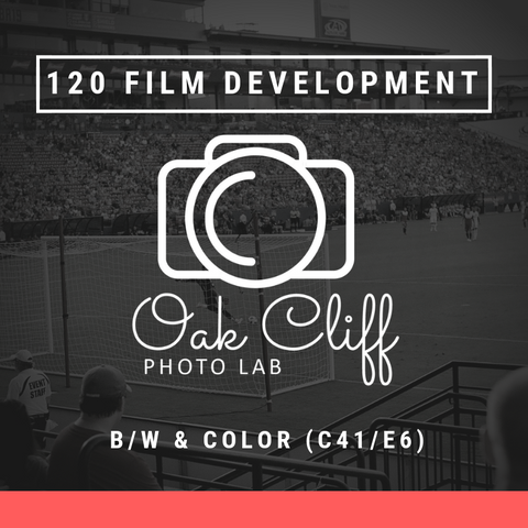 120 Film Development - Oak Cliff Photo Lab