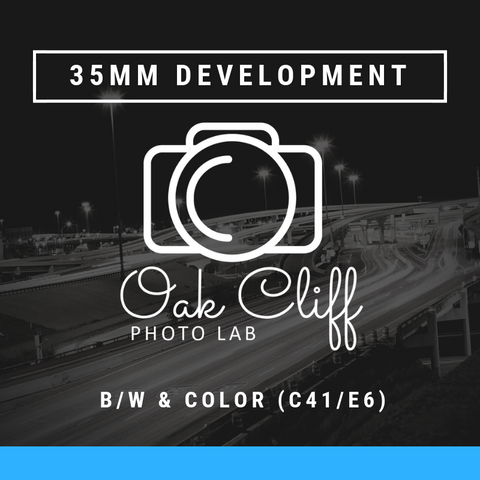 35mm Film Development - Oak Cliff Photo Lab