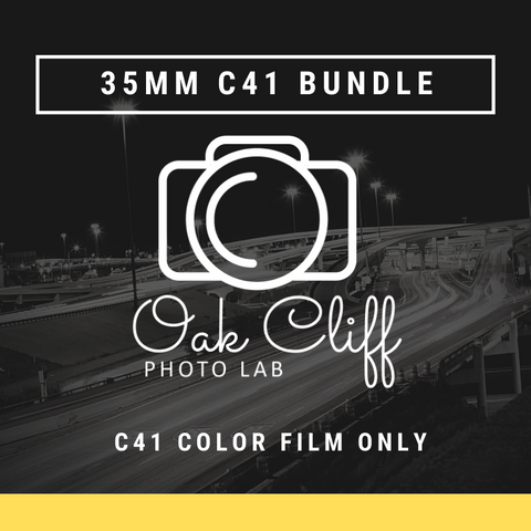 Film Bundle 35mm C41 Color: Develop and Scan