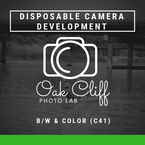 Disposable Film Camera Development - Oak Cliff Photo Lab