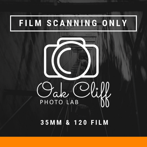 Film Scanning ONLY - Oak Cliff Photo Lab