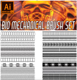 Biomechanical /Industrial tube brush set
